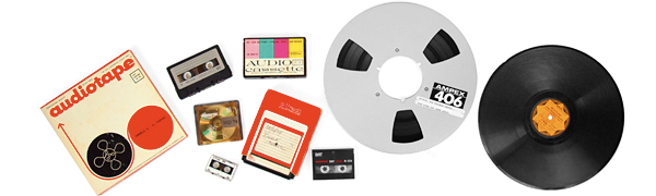 reel to reel tapes, LP records & 78s can be converted to CDs at CMR Studios, Tampa, St. Petersburg, FL